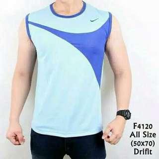 Baju Kaos Singlet Gym Pria Nike Termurah