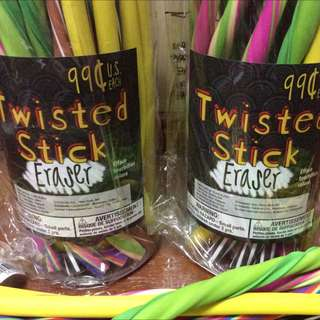 Twisted Stick Eraser 12 Inches