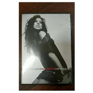 CHRISTINA AGUILERA 'STRIPPED' CONCERT DVD