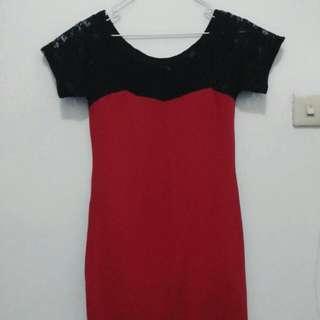 Dress Renda Merah
