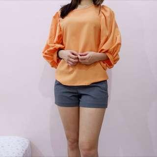Orange Oversize Top