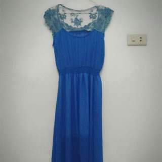 Dress Renda Biru