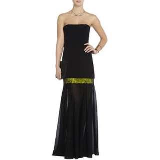 BCBG Jamysen Strapless Gown