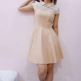 Girlie Check Dress