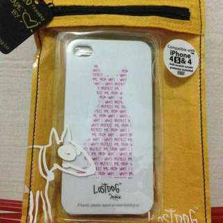 Authentic💯 Lost dog ™ iPhone 4/4s Case