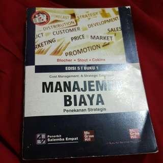 [BAYAR ONGKIR AJA] Manajemen Biaya Buku I - Mc Graw Hill