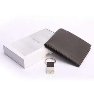 Calvin Klein Bifold Wallet And Key Fob