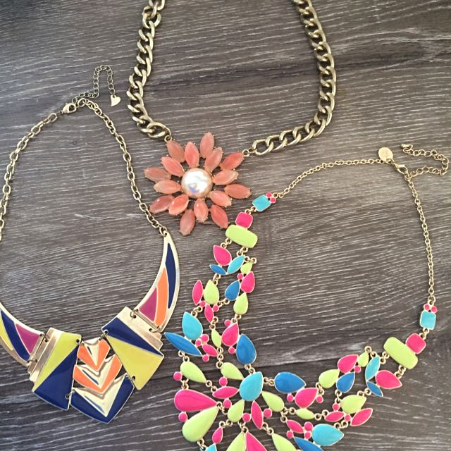 3 Statement Necklaces