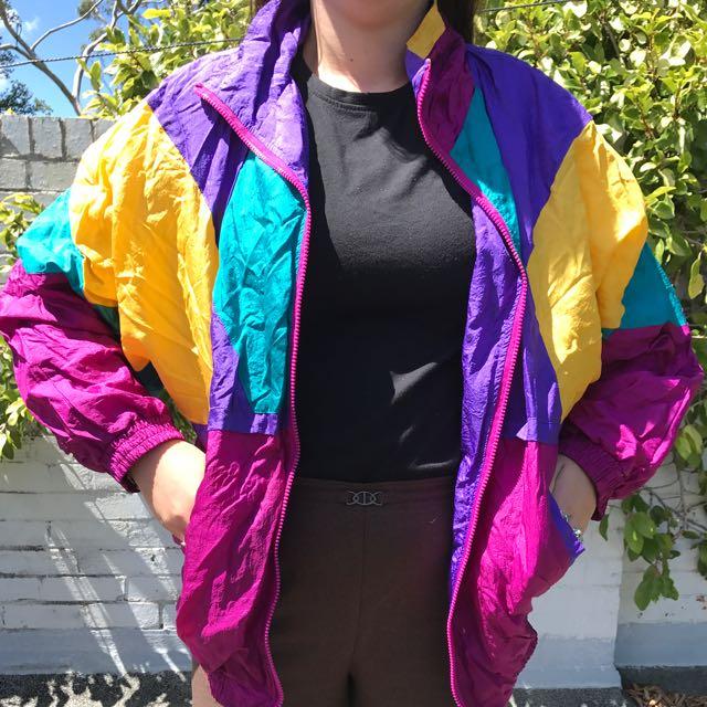 90's Colourful Vintage Jacket