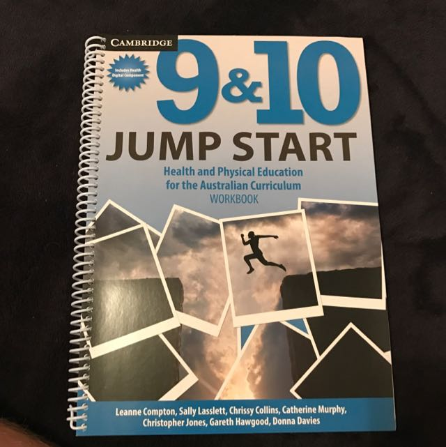 9&10 Jump Start Health And Physical Education Book