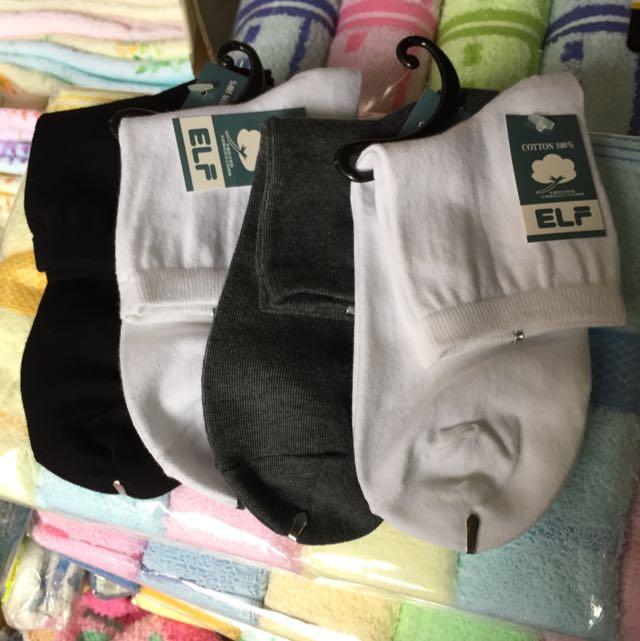 台灣製小三花棉襪