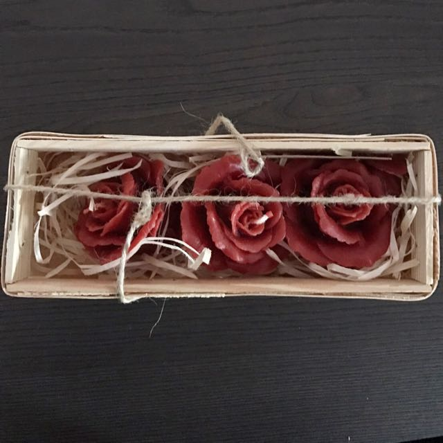 波蘭購入玫瑰蠟燭