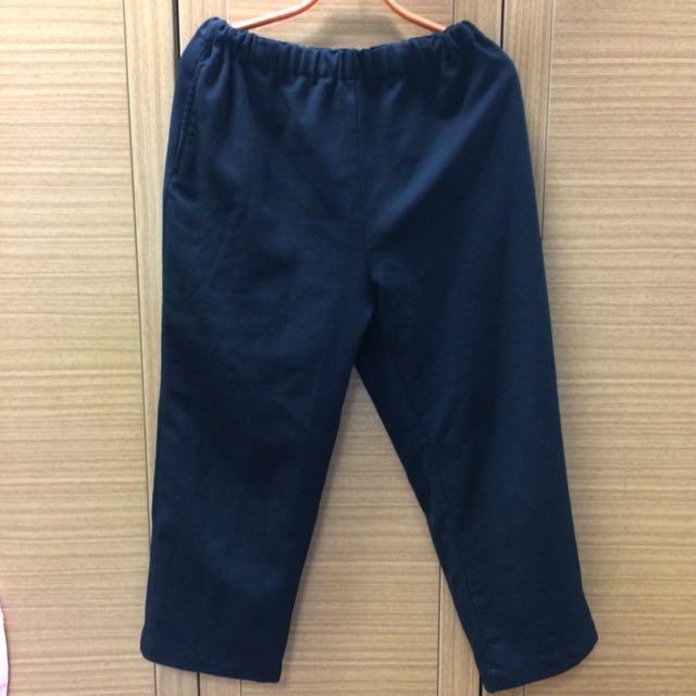 「免運」黑色寬褲 闊腿褲 寬褲