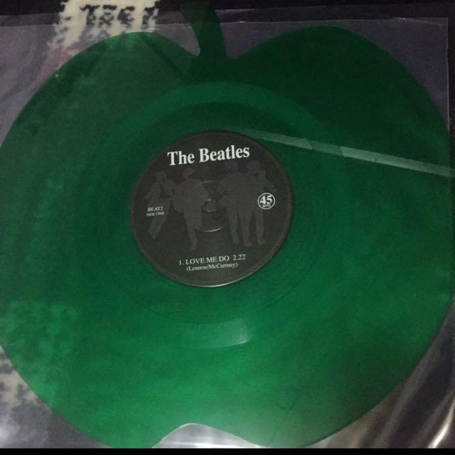披頭四 黑膠唱片 THE BEATLES LOVE ME DO 綠蘋果
