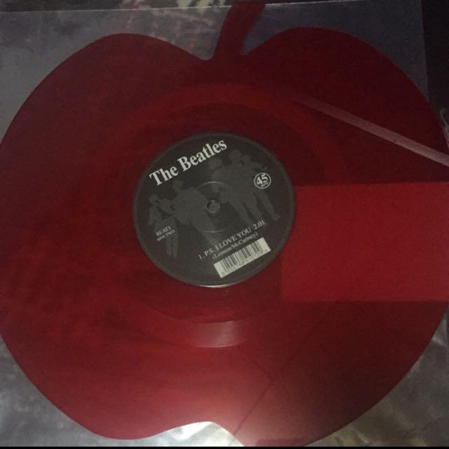 披頭四 黑膠唱片 THE BEATLES LOVE ME DO 紅蘋果