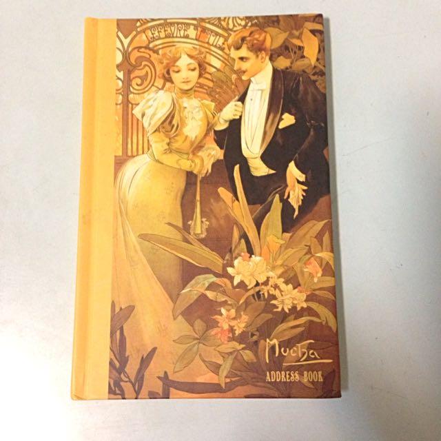慕夏聯絡本 Mucha Address Book
