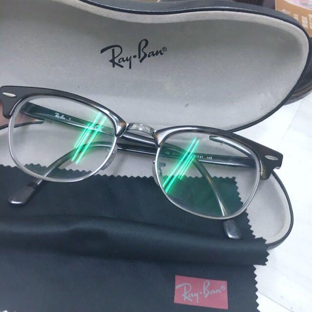 雷朋 Rayban Clubmaster 眉框眼鏡 鏡框