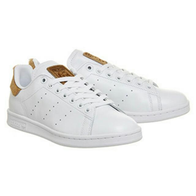 BN Adidas Stan Smith White Pale Nude Pony Exclusive, Women's Fashion, Shoes on Carousell