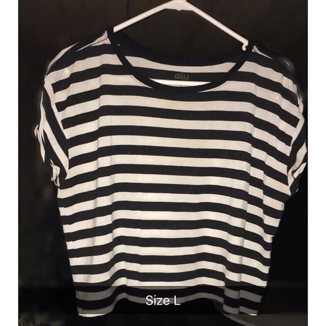 Ally Striped Crop Top
