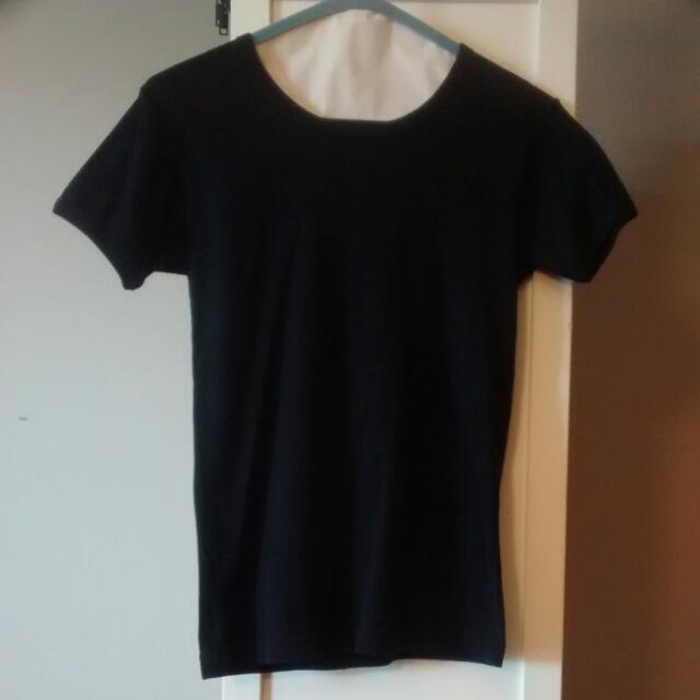 American Apparel Black T-Shirt