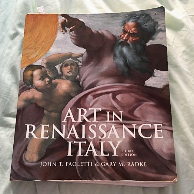 Art Is Renaissance Italy