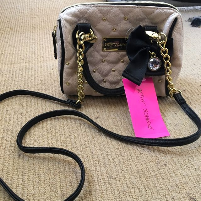 Authentic Betsey Johnson Shoulder Side Bag