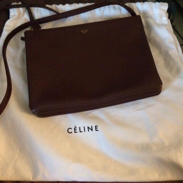 Price Drops Authentic Celine Burgundy