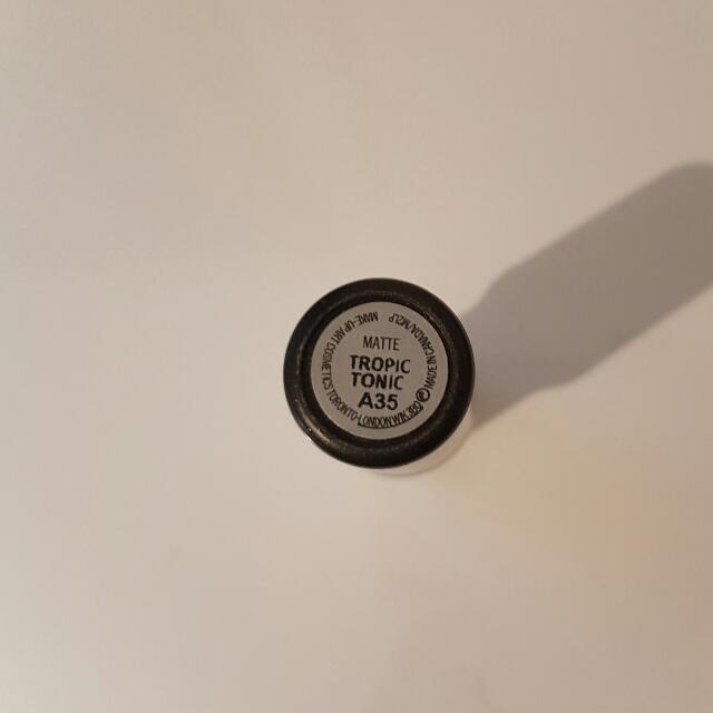 Authentic MAC Lipstick - Tropic Tonic (Fill Power Coral)