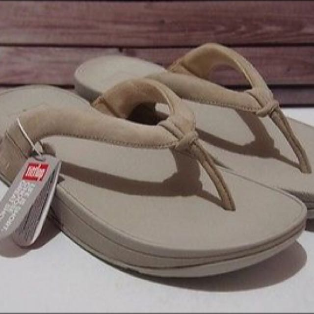 Authentic/Original FITFLOP Swirl Suede Nude Women's Sandals (US 5) / (US 6) / (US 7) / (US 9)