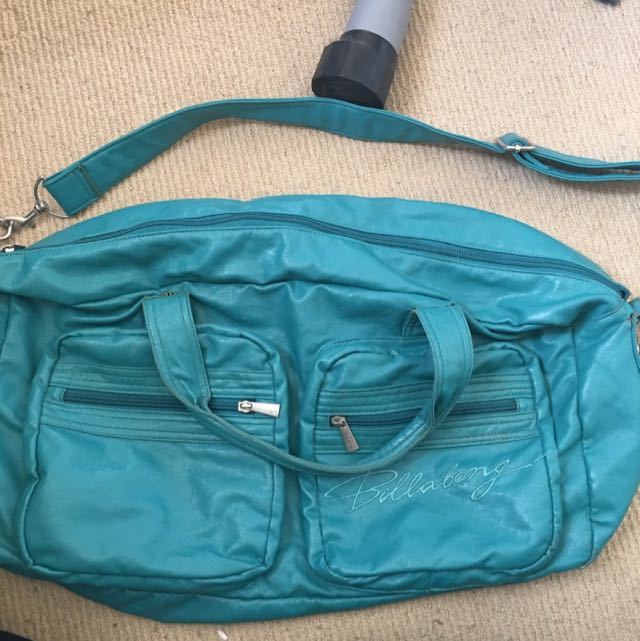 Billabong Turquoise Travel Over Night Bag