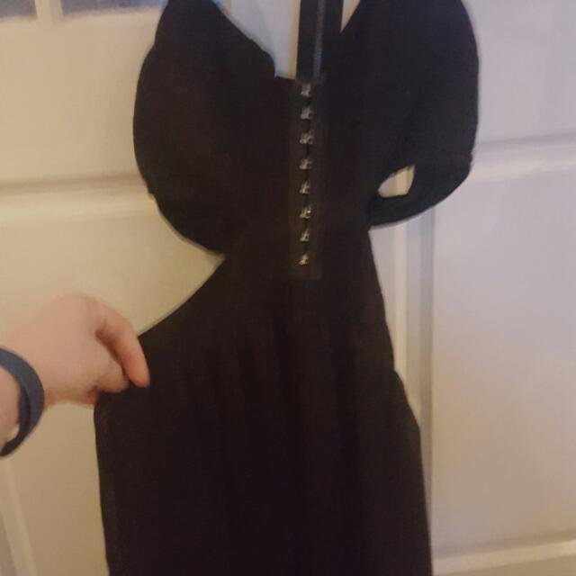 Black Blurr Dress Size 10