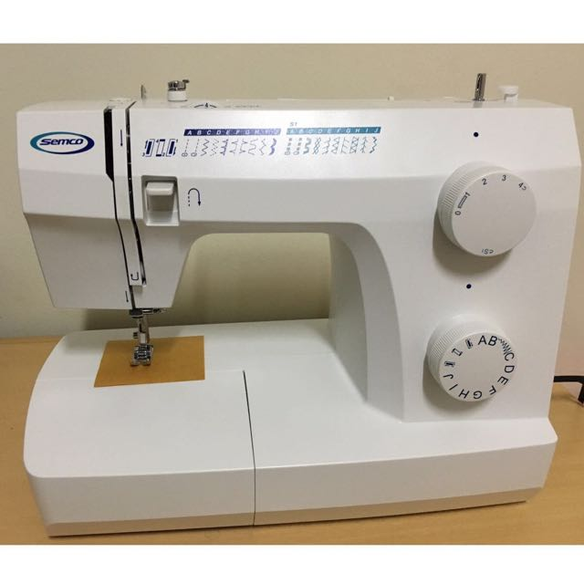 BRAND NEW SEMCO SEWING MACHINE Design Craft Others On Carousell Inspiration Semco Sewing Machine