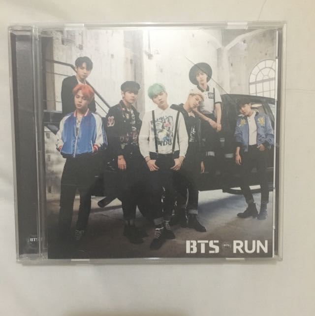 BTS RUN jap CD