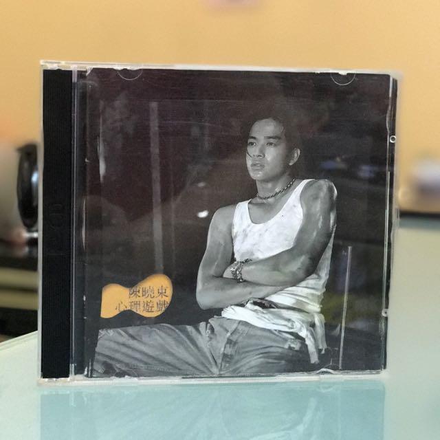 二手cd陳曉東「心理遊戲」