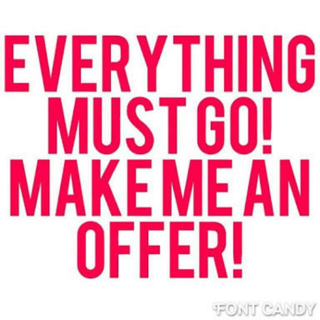 Check My Page- Make An Offer & You Might Have A Deal :)