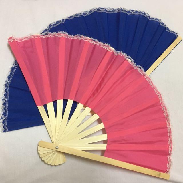 Colorful Wooden Fan
