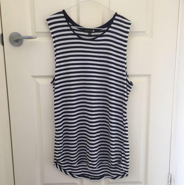Cotton On Long Singlet/T-Shirt Dress