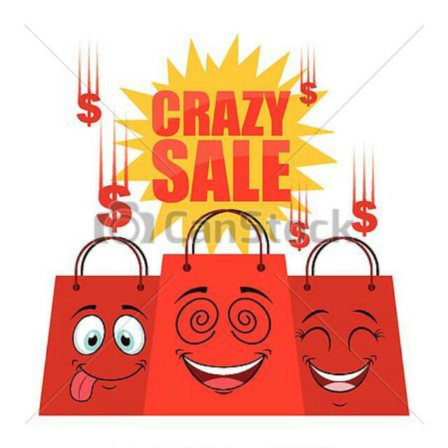 Crazy Sale Semua Pakaian Turun Harga Beb