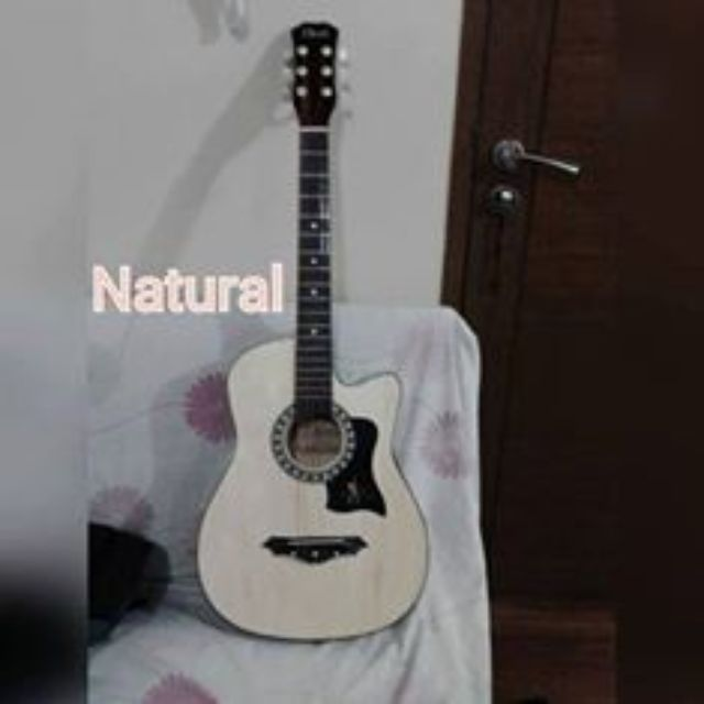 Davis Acoustic Guitar with FREE Capo