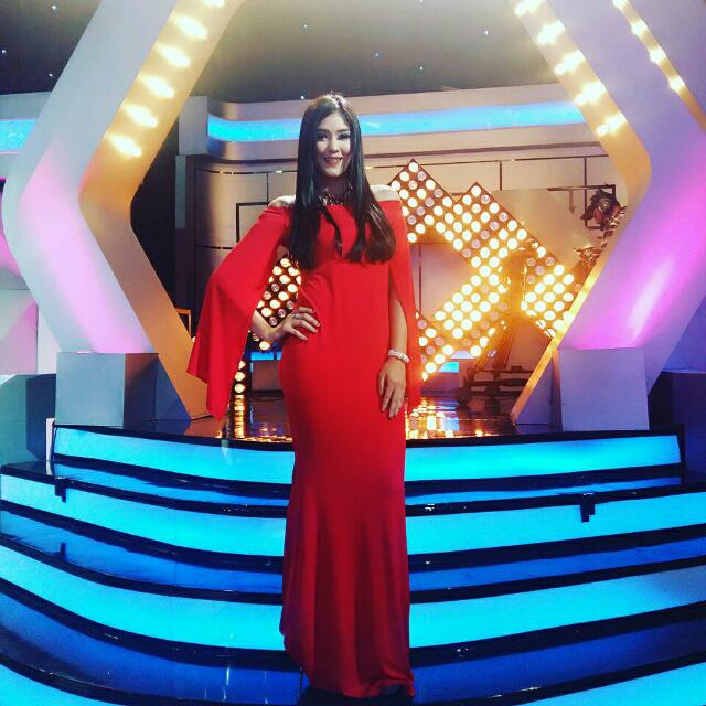 Dress Spandex Red