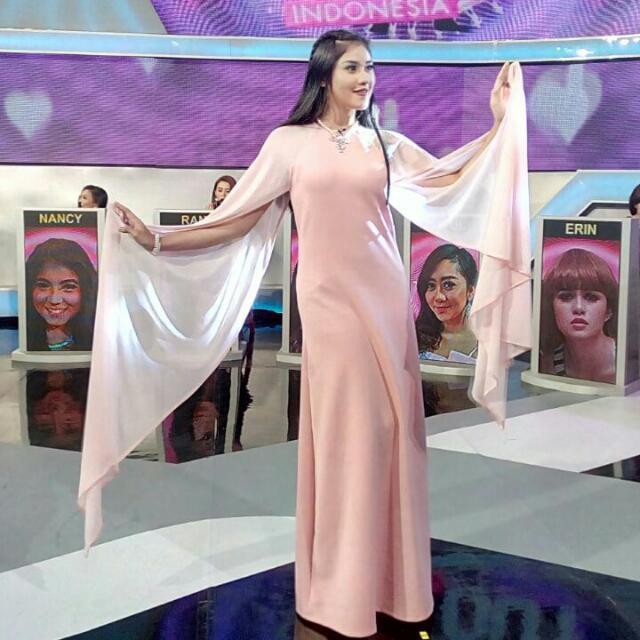 Dress Scuba Tile Pink