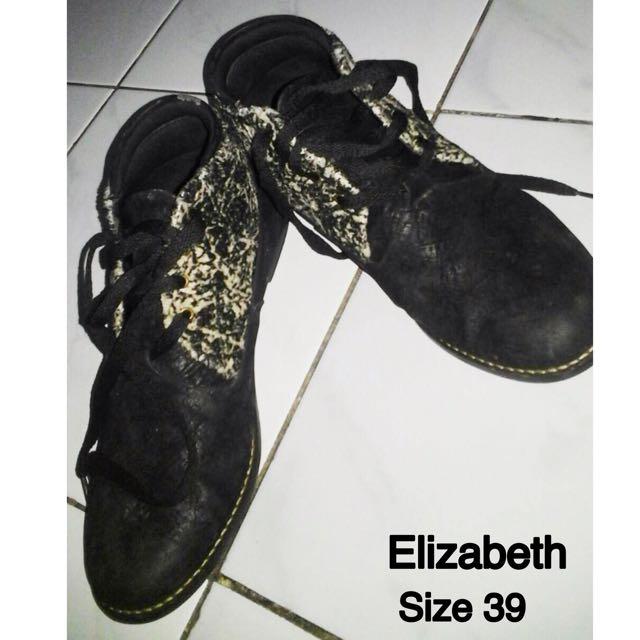 Elizabeth Black Shoes