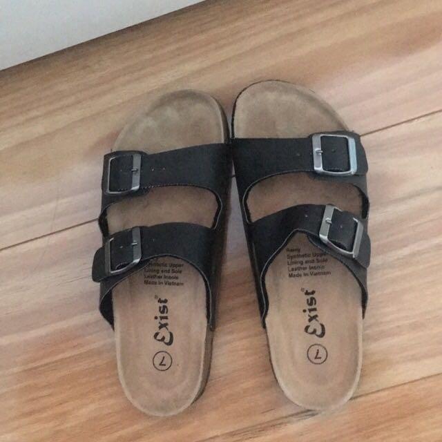 Fake Birkenstock Slip On Sandals