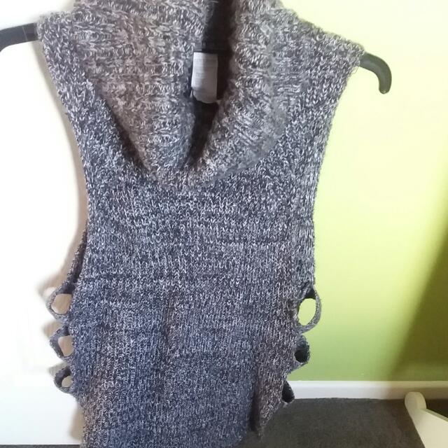 Fancy Knitted Long Top