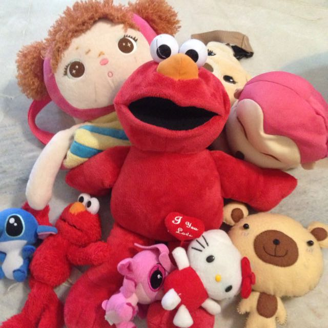 FREE - (Charity) - Bundle Of Mix Soft Toys