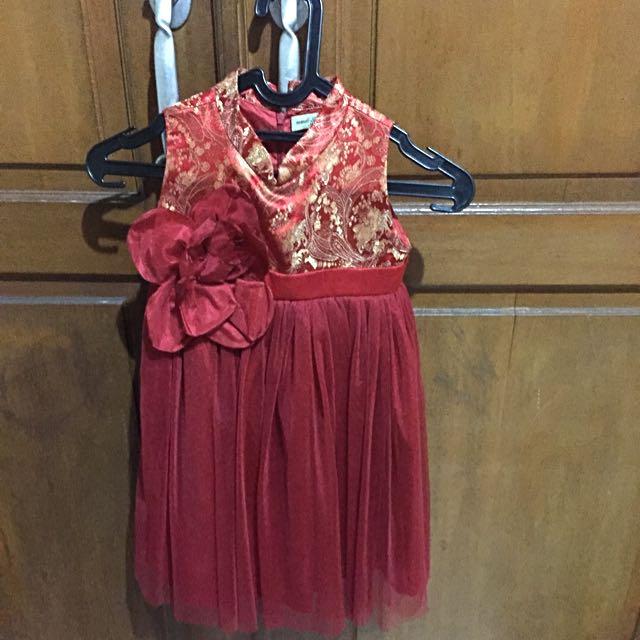 Gaun Imlek Anak Perempuan