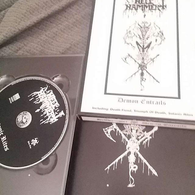 """Hellhammer """"demon Entrails"""" Collectors Edition Release"""