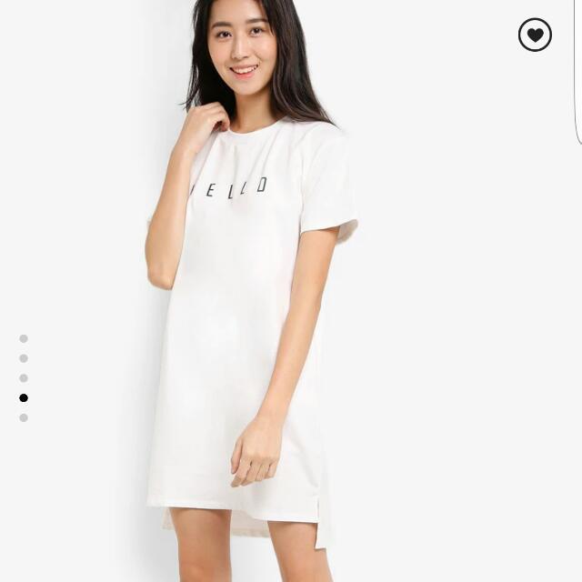 Hello Basic Shirt Dress