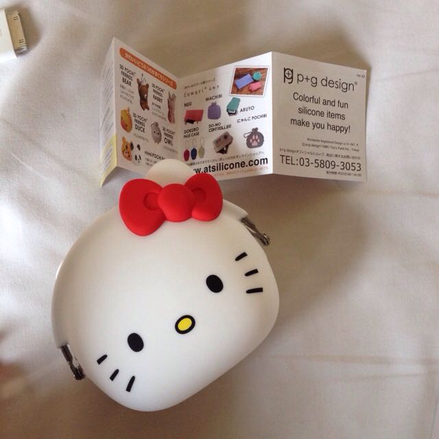 Hello Kitty Silicone Purse
