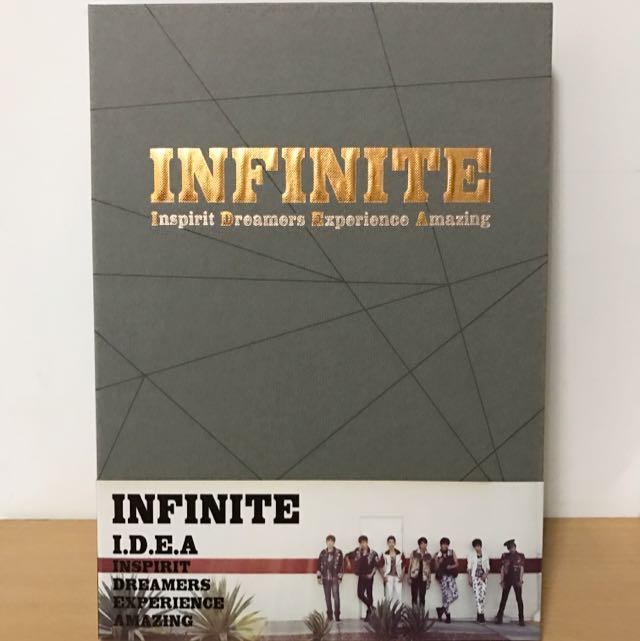 INFINITE IDEA寫真集(韓國進口版) 附聖圭迷你海報